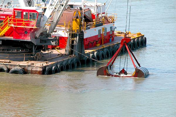 marine dredging services