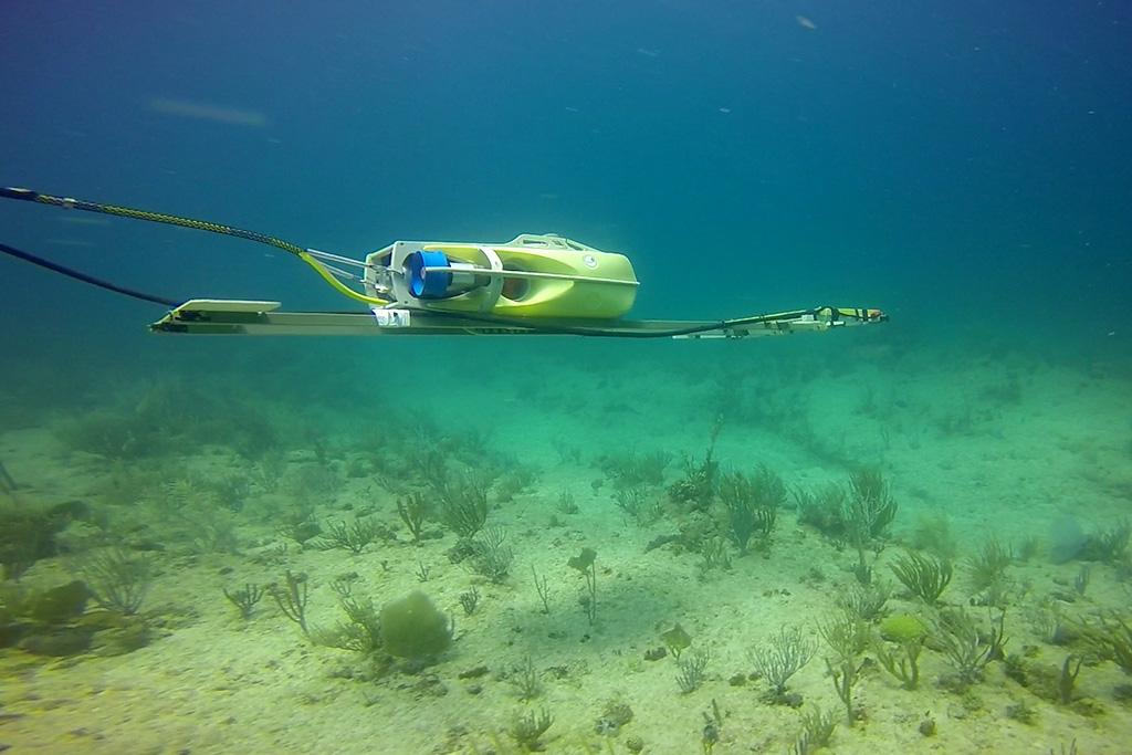 marine geophysical survey underwater rov