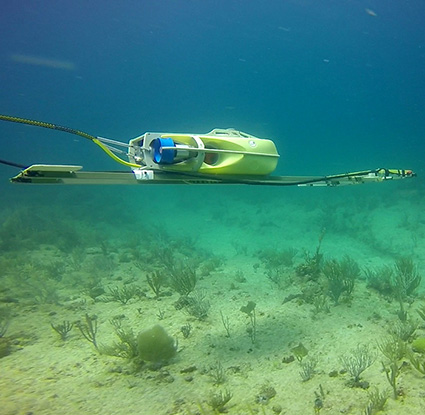 marine geophysical survey underwater rov
